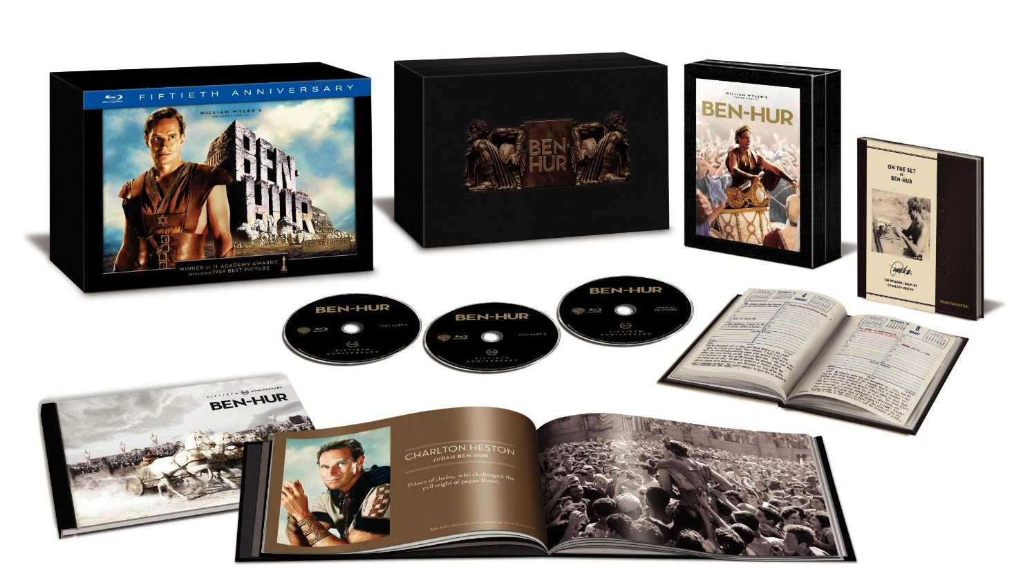Ben-Hur: 50th Anniversary Ultimate Collector's Edition Blu-ray