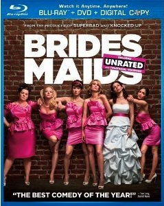 Bridesmaids - Blu-ray cover