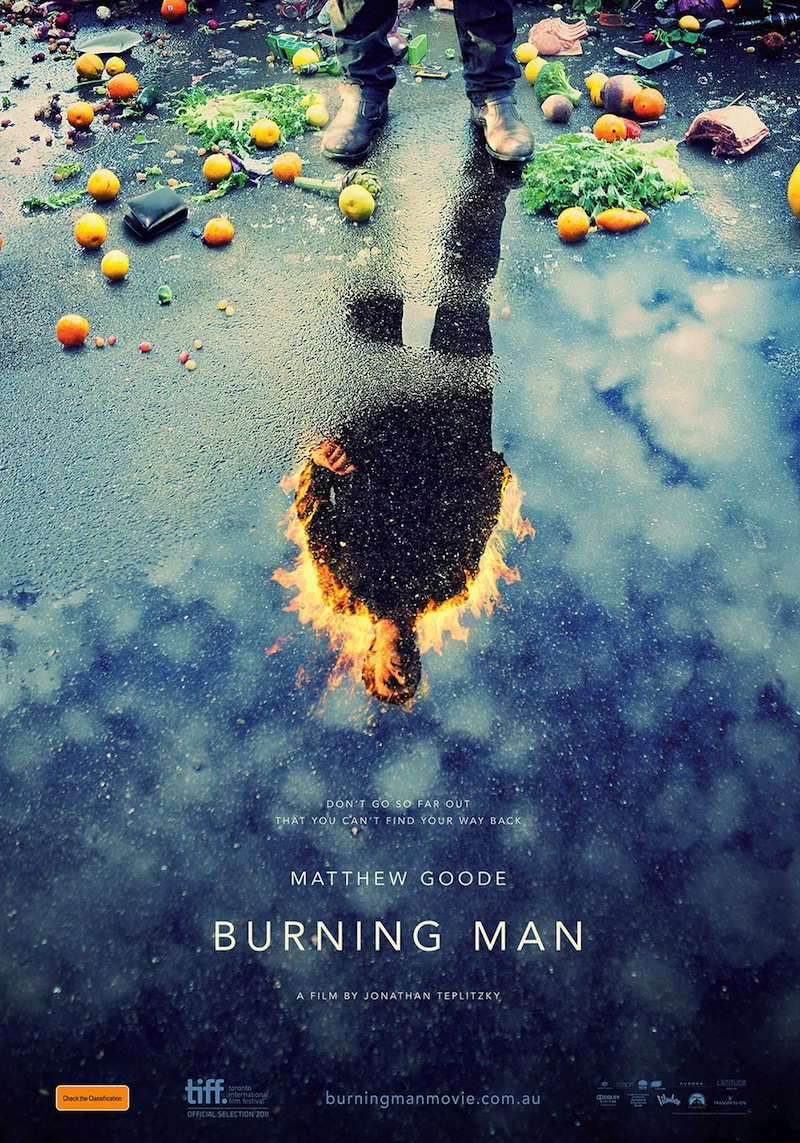 Burning Man - Australian poster