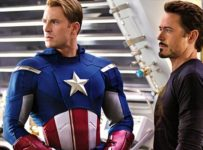 Captain American and Iron Man in The Avengers