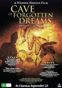 Cave of Forgotten Dreams - Australian poster
