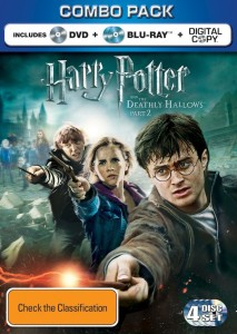 Harry Potter and the Deathly Hallows - Part 2 Blu-ray DVD Combo