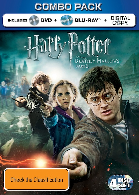 Harry Potter and the Deathly Hallows – Part 2 Blu-ray and ...  Harry Potter an...