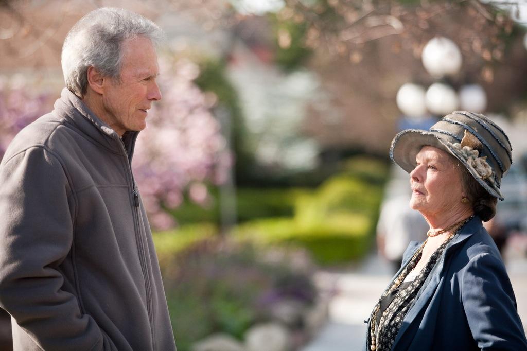 J. Edgar (2011) - Judi Dench and Clint Eastwood