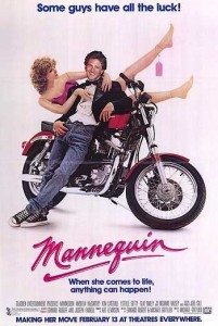 Mannequin (1987) poster