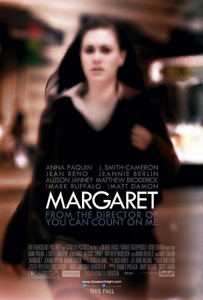 Margaret poster - Anna Paquin