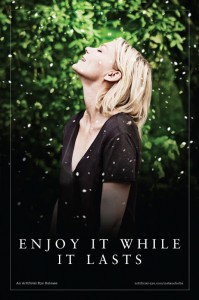 Melancholia poster (UK) - Kirsten Dunst