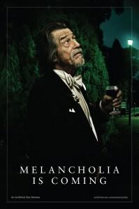 Melancholia poster (UK) - John Hurt