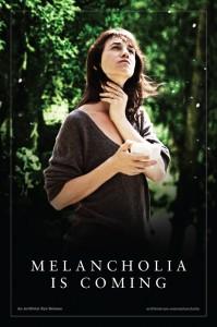 Melancholia poster (UK) - Charlotte Gainsbourg