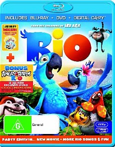Rio - Blu-ray - Australia
