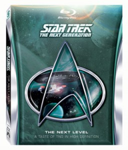 Star Trek: The Next Generation Blu-ray sampler