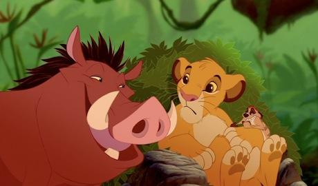 The Lion King - Timon, Pumba and Simba