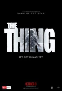 The Thing poster - Australia