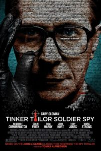 Tinker Tailor Soldier Spy poster - Smiley