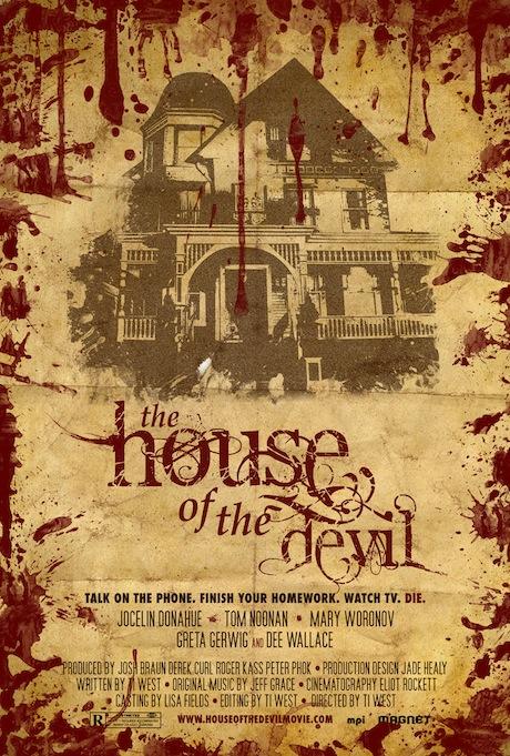 The House of the Devil poster (2009) - Hopko Designs