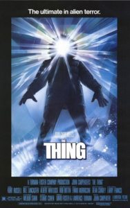 The Thing poster (1982)