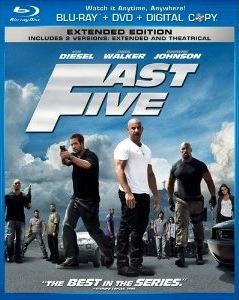 Fast Five Blu-ray (US)