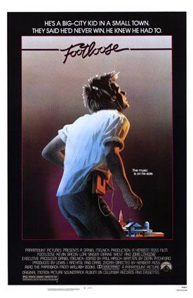Footloose poster (1984)