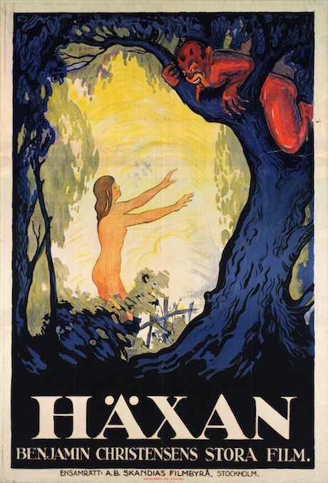 Haxan: Witchcraft Through the Ages poster