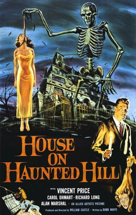 House on Haunted Hill poster (1959)
