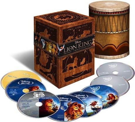 The Lion King Trilogy 3D - Blu-ray Set