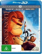 The Lion King Blu-ray 3D