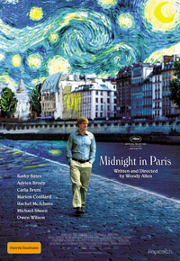 Midnight in Paris - Australian poster