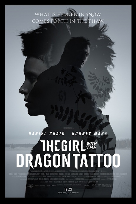 The Girl with the Dragon Tattoo - New poster