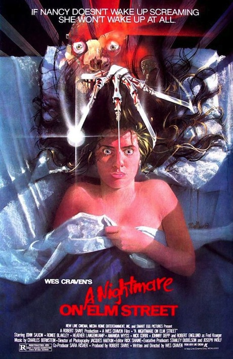 A Nightmare on Elm Street poster (1984)