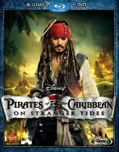 Pirates of the Caribbean: On Stranger Tides - Blu-ray cover
