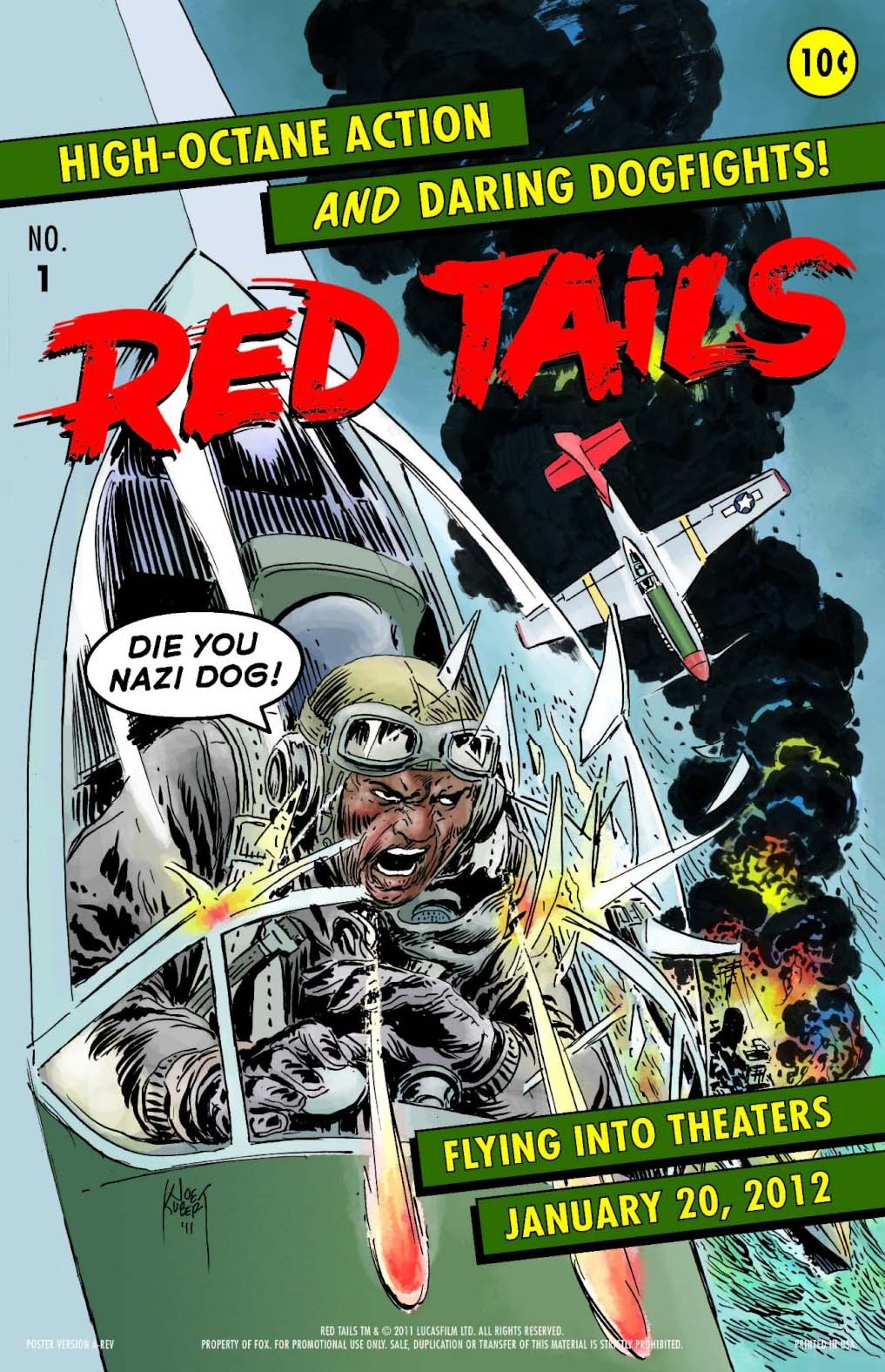 Red Tails poster - NYCC