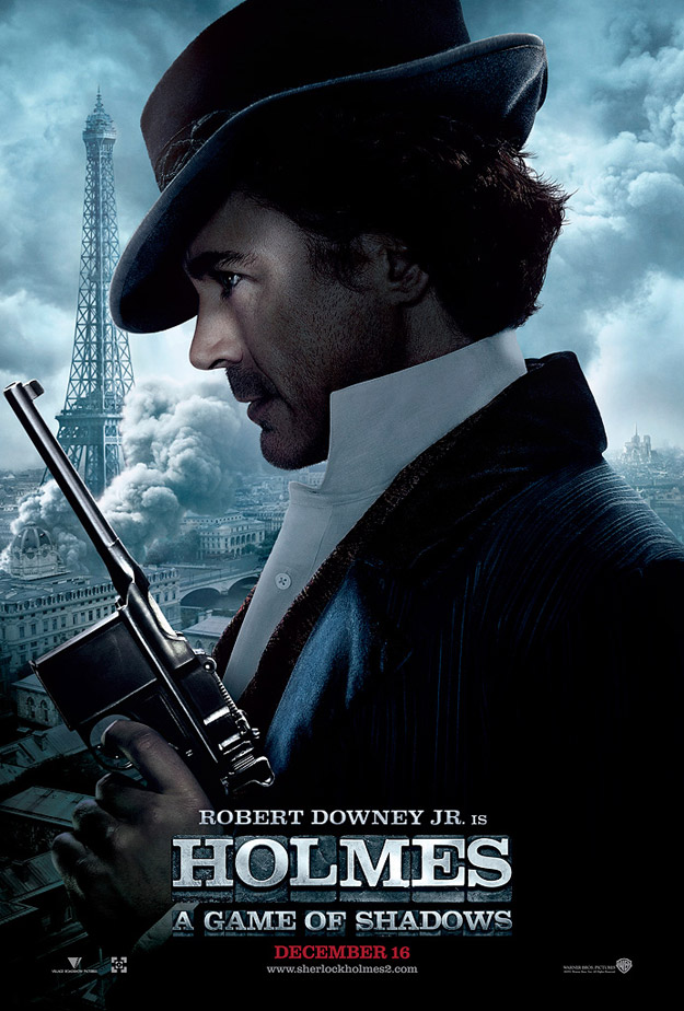 Sherlock Holmes: A Game of Shadows - Robert Downey Jr poster