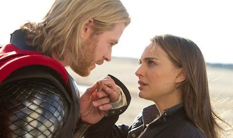 Thor - Chris Hemsworth and Natalie Portman