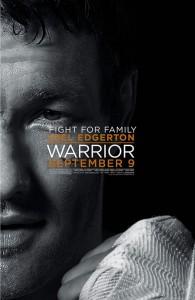 Warrior poster (Joel Edgerton)