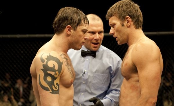 Warrior - Joel Edgerton and Tom Hardy