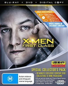 X-Men: First Class Blu-ray