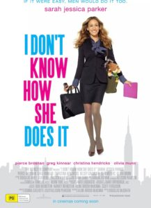 I Don't Know How She Does It poster - Australia