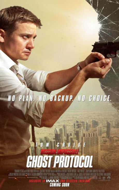 Mission: Impossible - Ghost Protocol poster (Jeremy Renner)