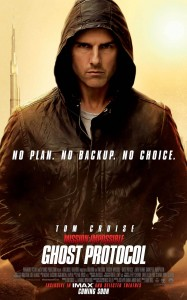 Mission: Impossible - Ghost Protocol poster (Tom Cruise)