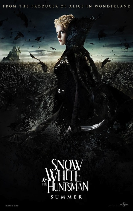 Snow White and the Huntsman poster - Charlize Theron