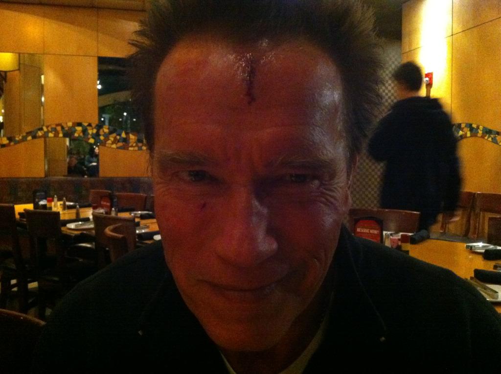 Arnold Schwarzenegger on The Last Stand