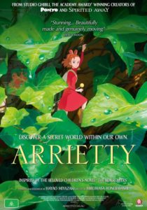 Arrietty poster - Australia