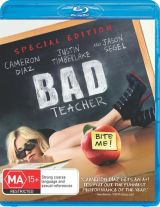 Bad Teacher Blu-ray cover