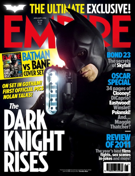 Empire - The Dark Knight Rises - Batman cover