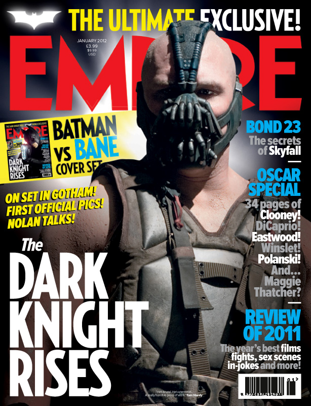 Empire - The Dark Knight Rises - Bane cover