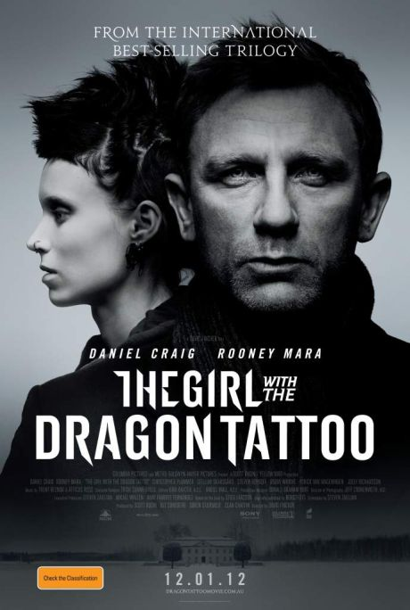 The Girl with the Dragon Tattoo poster - Australia