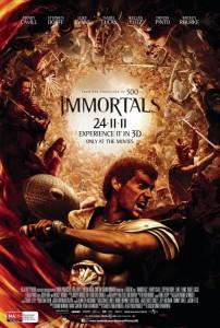 Immortals poster - Australia