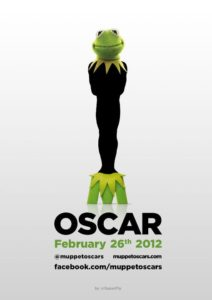 Kermit the Frog Oscars poster