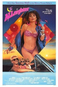 The Allnighter poster (1987)