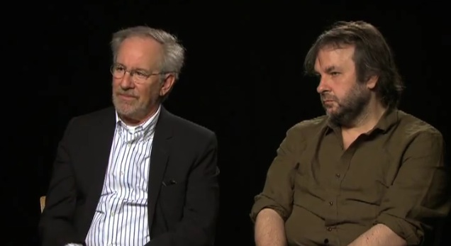 Peter Jackson and Steven Spielberg on The Adventures of Tintin